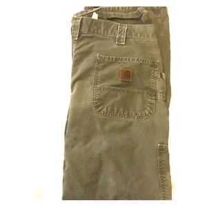 Carhartt dungaree fit carpenter work pants